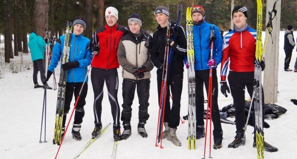 Соревнования по лыжным гонкам в рамках Спартакиады среди учебных заведений ГО Краснотурьинск