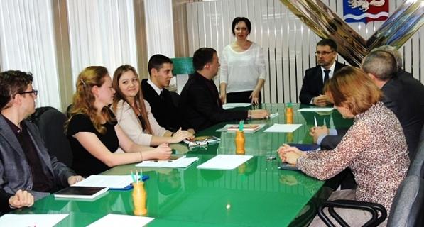 Первое заседание Молодёжной администрации